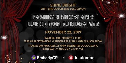 EmbodyGR & lululemon Fashion Show & Luncheon Fundraiser