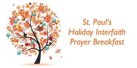 St. Paul's Senior Services Holiday Prayer Breakfast tickets
