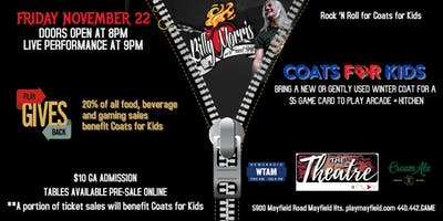 Coats for Kids Fundraiser featuring Billy Morris & The Sunset Strip