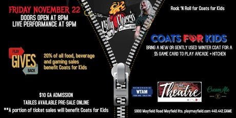 Coats for Kids Fundraiser featuring Billy Morris & The Sunset Strip tickets