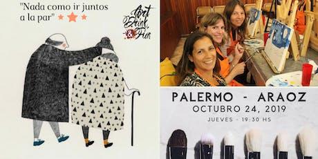 Art, Drink & Fun - 24 de Octubre - Palermo Araoz - 19:30 hs entradas