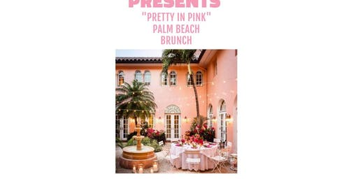 Pretty in Pink Palm Beach Paradise Brunch