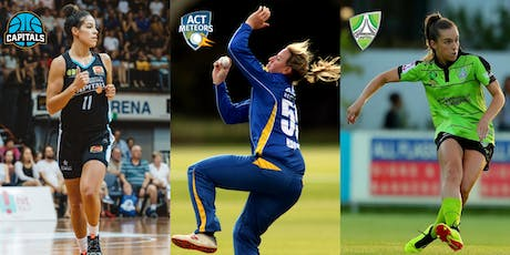 Canberra Summer of Women's Sport Season Launch tickets
