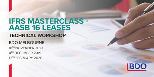 IFRS Masterclass - AASB 16 Leases