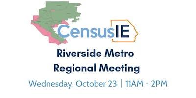 Riverside Metro Regional Table Meeting