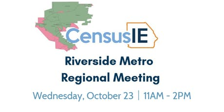 Riverside Metro Regional Table Meeting tickets