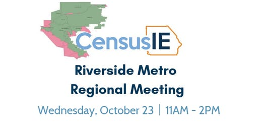 Riverside Metro Regional Table Meeting