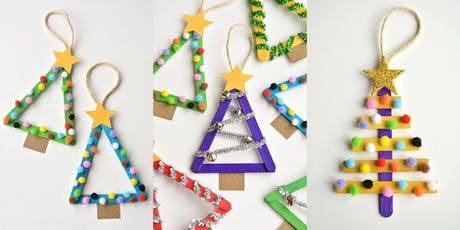 Kids Colourful Ornament Making Workshop tickets