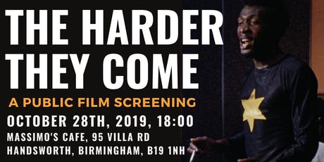 The Harder They Come: Film Screening by Caribbean Pop-Up Cinema tickets