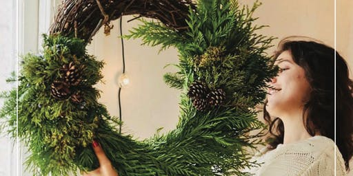Holiday Wreath Workshop & Party!