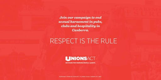 Respect is the Rule meet #1 - ending sexual harassment in hospo