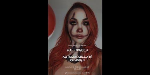 Halloween Makeup , Automaquillate conmigo!