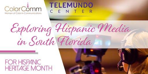 ColorComm Miami Presents Exploring Hispanic Media in South Florida