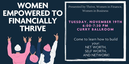 Women Empowered To Financially Thrive - Fall 2019