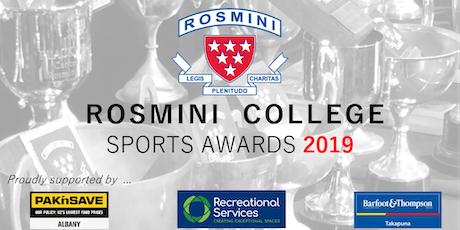 Rosmini College Sports Awards Dinner 2019 tickets