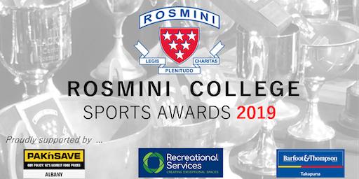 Rosmini College Sports Awards Dinner 2019