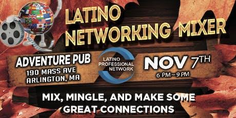 Latino Professional Networking Mixer In Arlington tickets