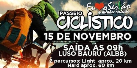 Passeio Ciclístico Eu Amo O Sertão E Minha Cidade ingressos