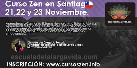Curso Zen en Santiago: 21,22 y 23 Noviembre. entradas