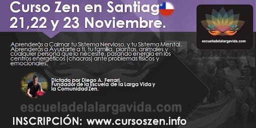 Curso Zen en Santiago: 21,22 y 23 Noviembre.