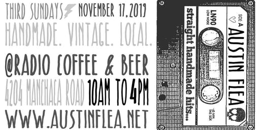Austin Flea at Radio Coffee in November