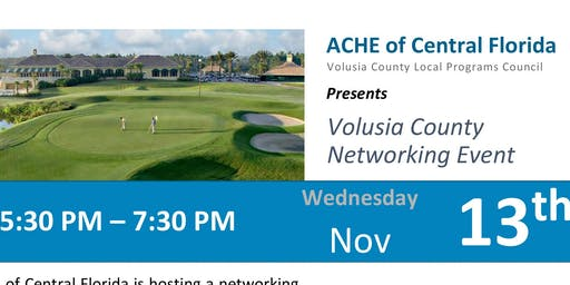 Volusia County Networking Event