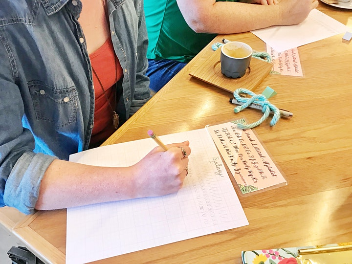 Hand Lettering Workshop - Beginners Welcome! image