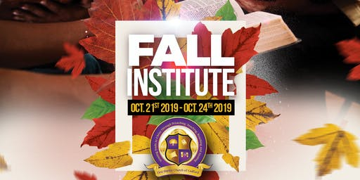 FBCOG Fall Institute
