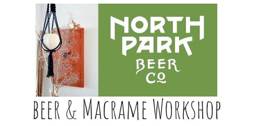 Macrame Pumpkin Hang Workshop at North Park Beer Co.