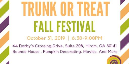 Trunk or Treat Fall Festival