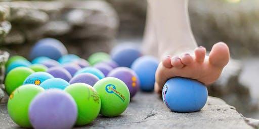 Yoga balles - automassage avec balles thérapeutiques