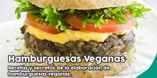 """TALLER GRATUITO """"Hamburguesas Veganas"""" - Recetas y Secretos"""