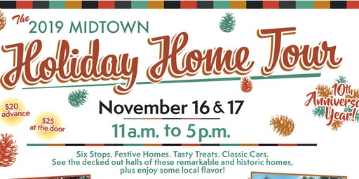 Midtown Holiday Home Tour 2019