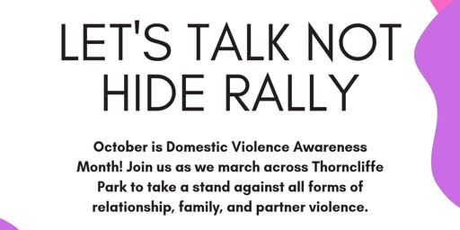 Afghan Women's Organization Presents: Let's Talk Not Hide Rally