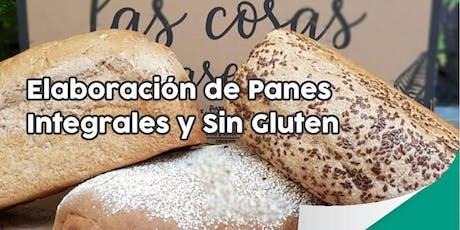 """TALLER GRATUITO """"Elaboración de Panes Integrales y Sin Gluten"""" entradas"""