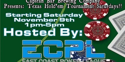Texas Hold'em Saturdays!