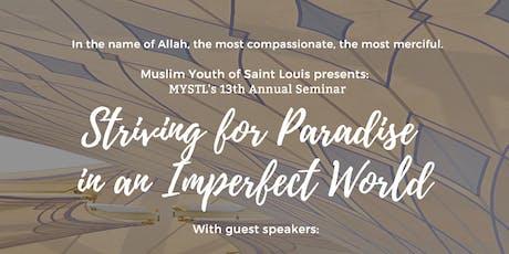MYSTL Seminar Banquet 2019 tickets