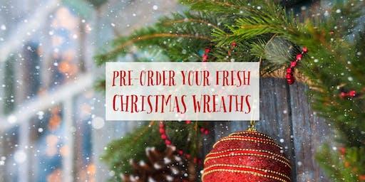 Fresh Christmas Wreath Fundraiser 2019