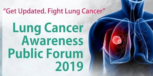 Lung Cancer Awareness Public Forum 2019
