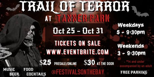 Haunted Trail of Terror at Tanner Park Long Island