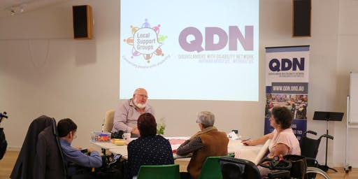 QDN Community Information Session: People with disability and supporters