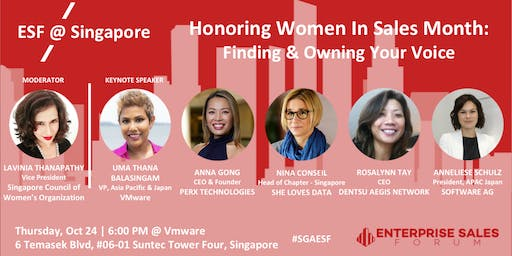 Honoring Women in Sales Month: Finding & Owning Your Voice