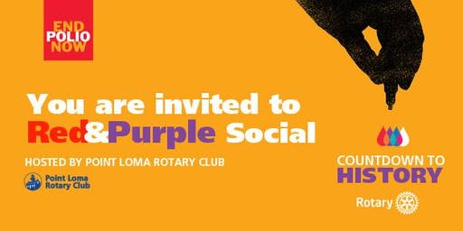 Red & Purple Social to End Polio