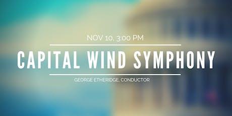 Capital Wind Symphony Concert tickets