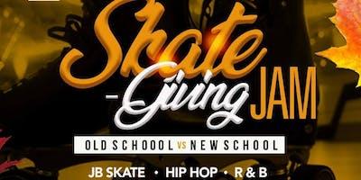 Skate-Giving Jam Old School VS New School