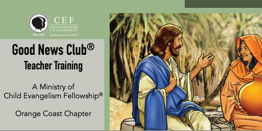 Good News Club Teacher Training (Foundations) - Child Evangelism Fellowship