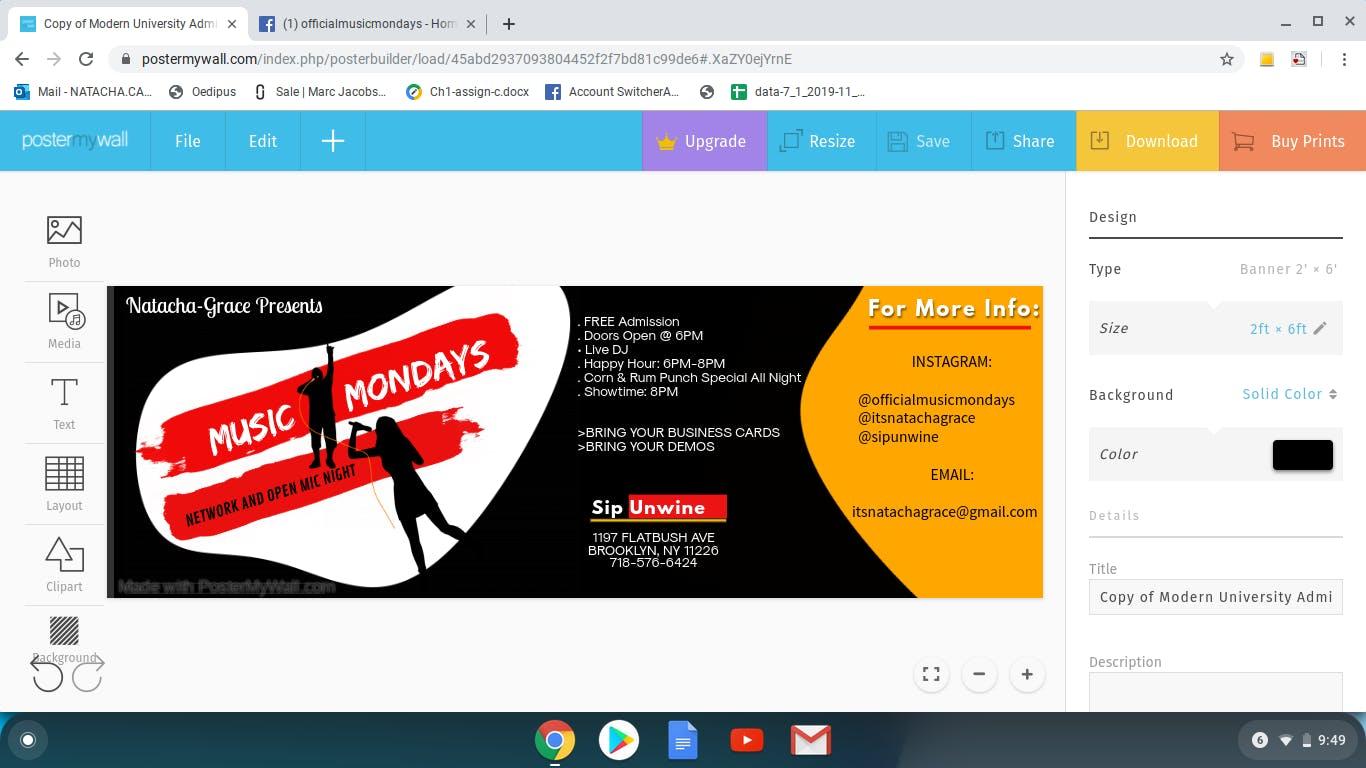 MUSIC MONDAYS: NETWORK & OPEN MIC NIGHT