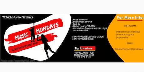 MUSIC MONDAYS: NETWORK & OPEN MIC NIGHT tickets