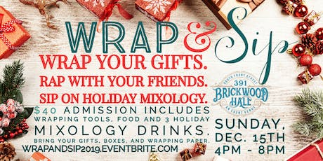 Wrap and Sip 2019 tickets