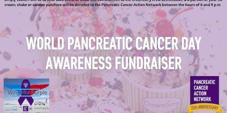 World Pancreatic Cancer Day Awareness Fundraiser tickets